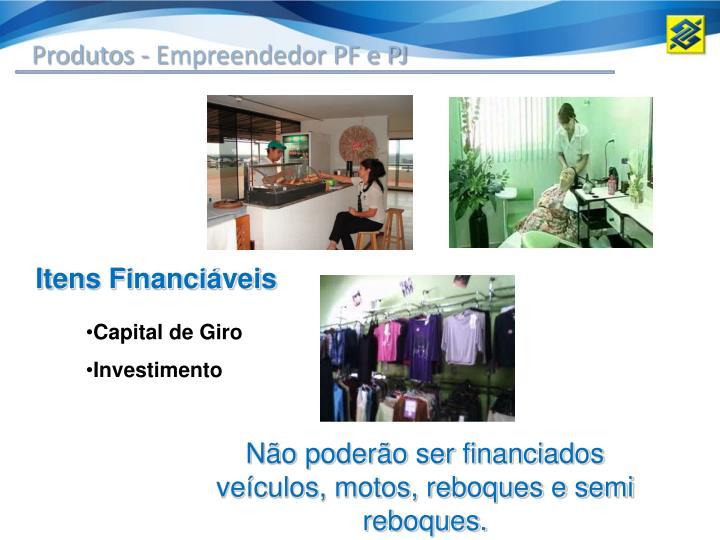 Produtos - Empreendedor PF e PJ