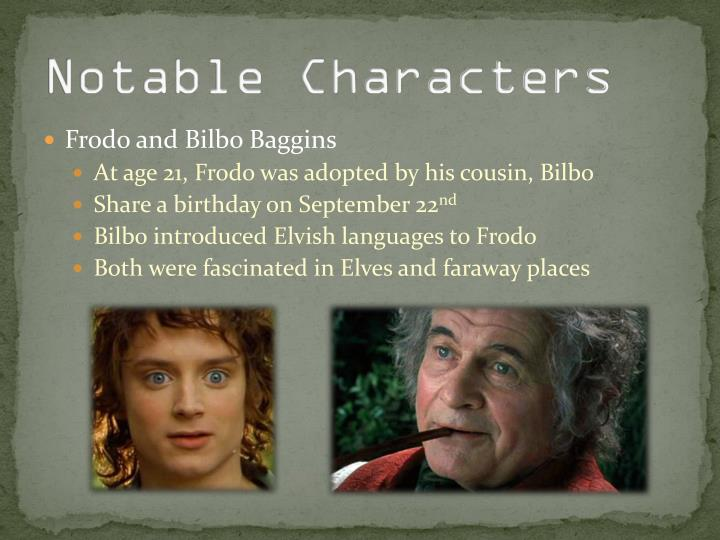 Notable Characters