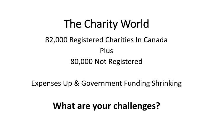 The Charity World