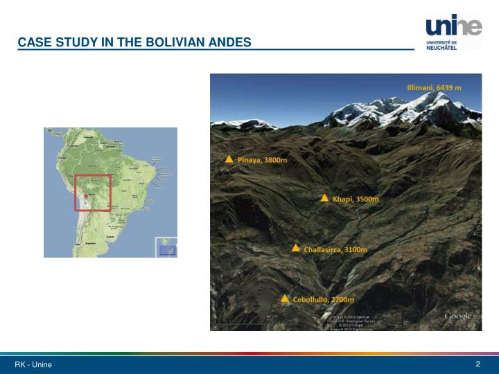 Case study in the Bolivian
