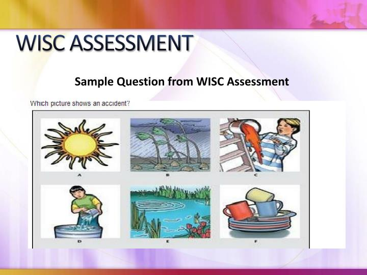 WISC ASSESSMENT