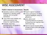 wisc assessment3