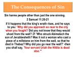 the consequences of sin4