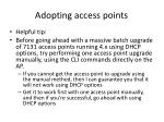 adopting access points16