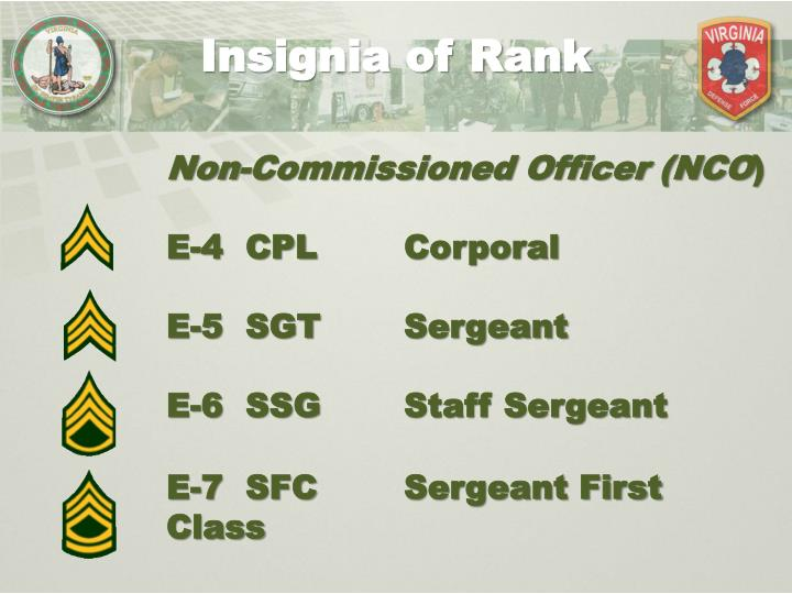 Insignia of Rank