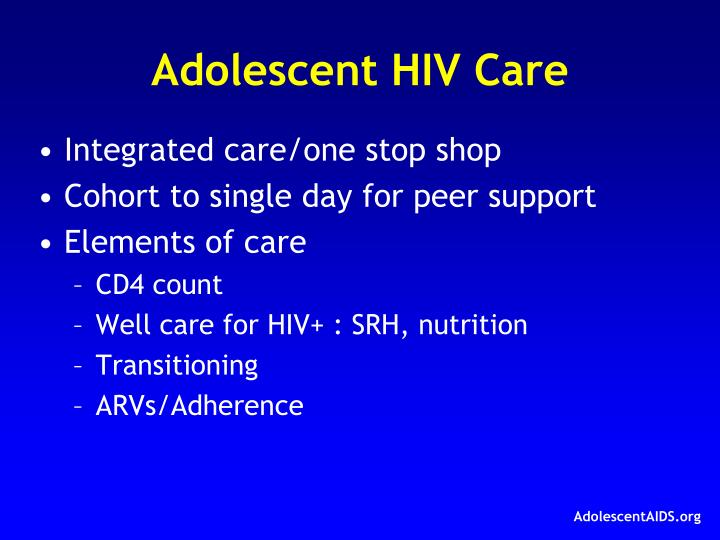 Adolescent HIV Care