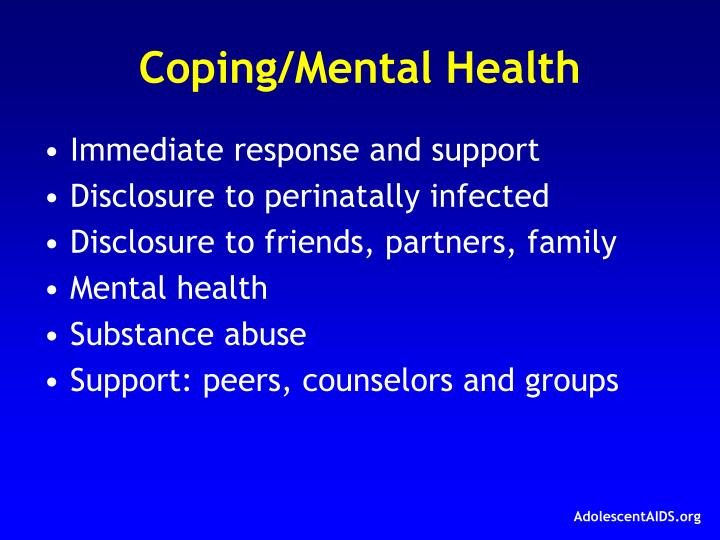Coping/Mental Health