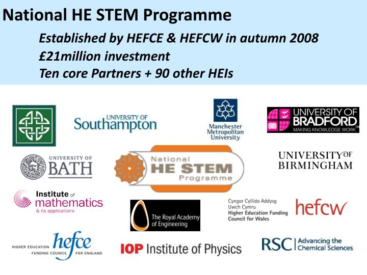 National HE STEM Programme