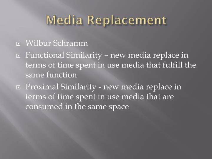 Media Replacement