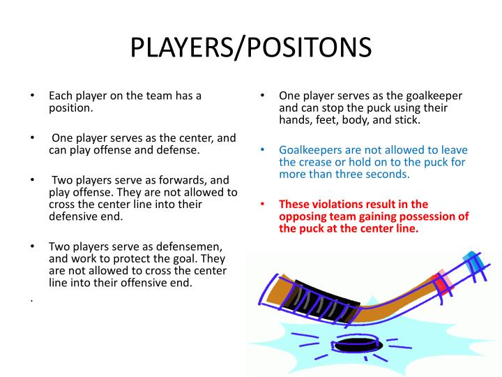PLAYERS/POSITONS