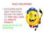 rule violations1