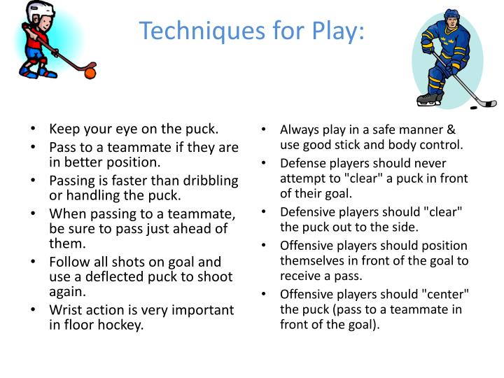 Techniques for Play: