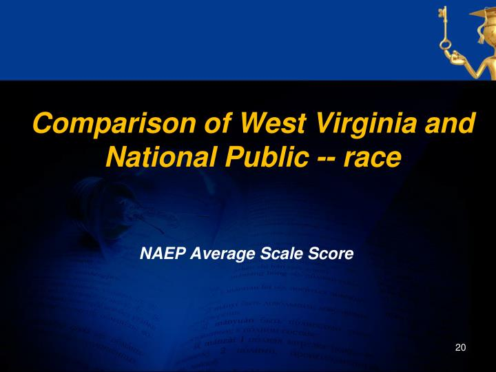 Comparison of West Virginia and National Public -- race