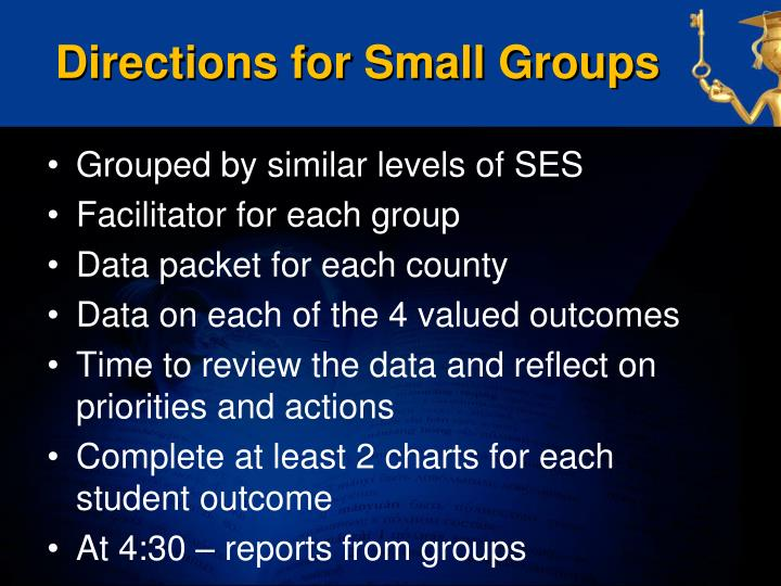 Directions for Small Groups