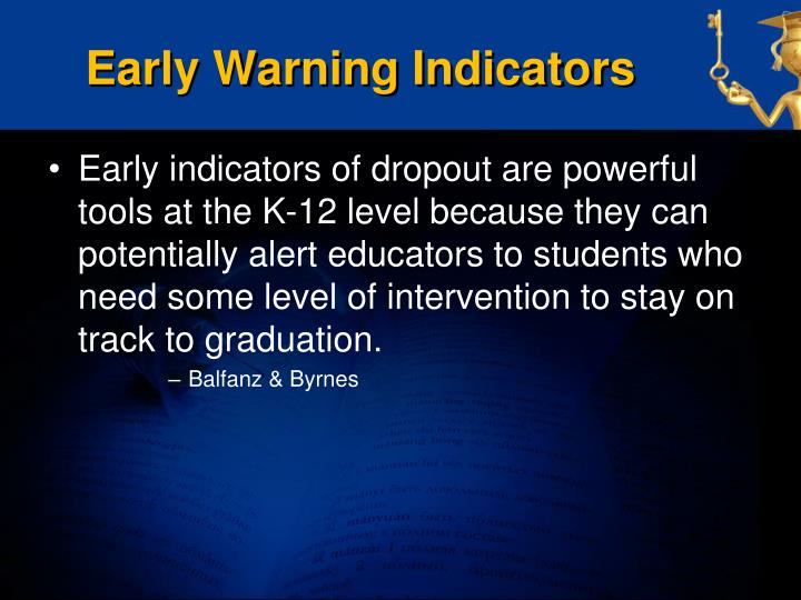 Early Warning Indicators