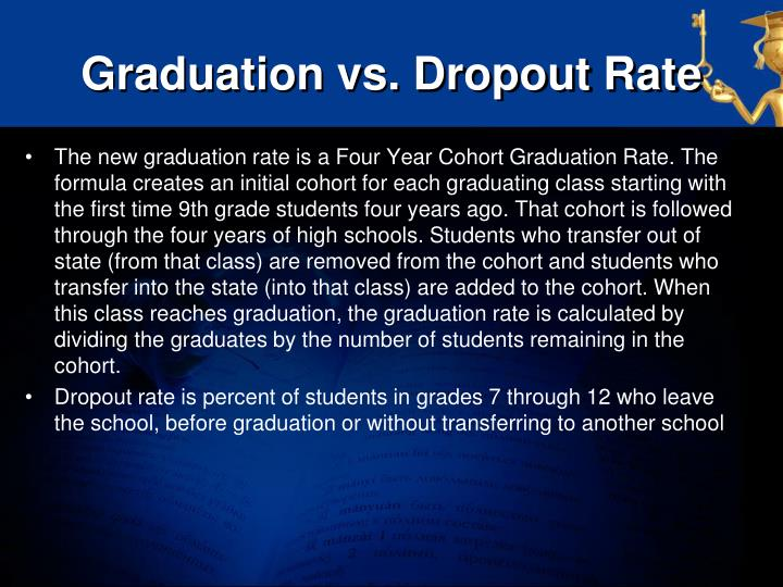 Graduation vs. Dropout Rate