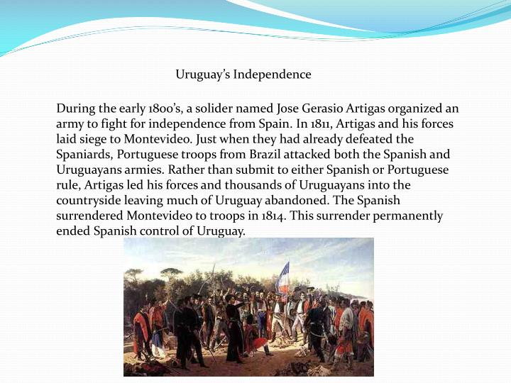 Uruguay's Independence