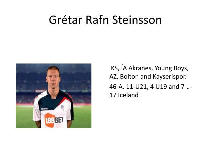 Grétar Rafn Steinsson