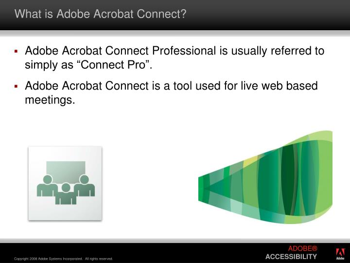 What is Adobe Acrobat Connect?