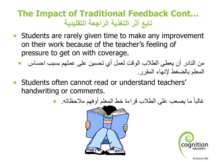 The Impact of Traditional Feedback Cont…