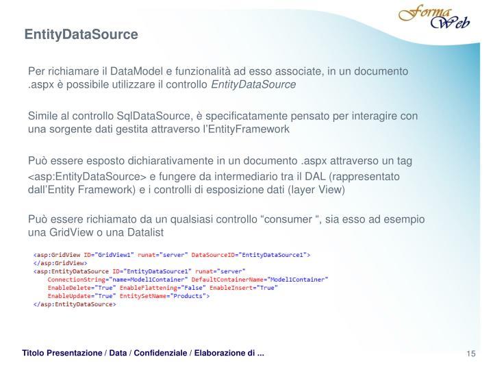 EntityDataSource
