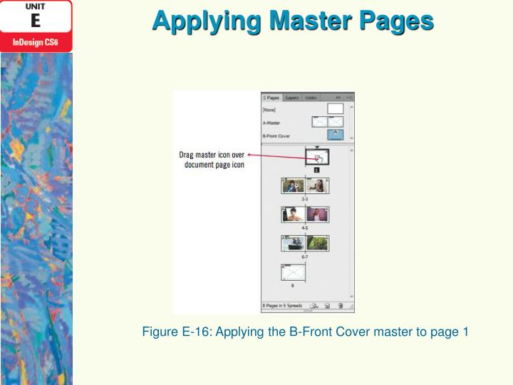 Applying Master Pages