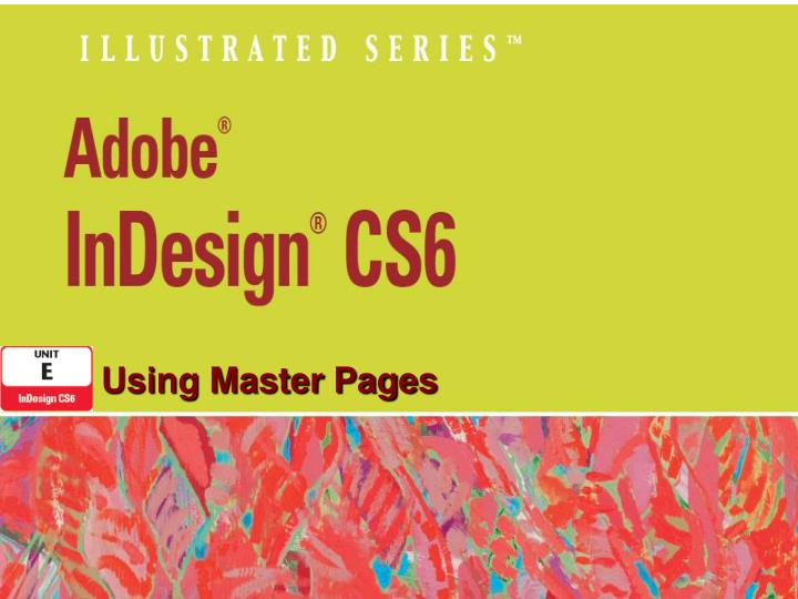 using master pages