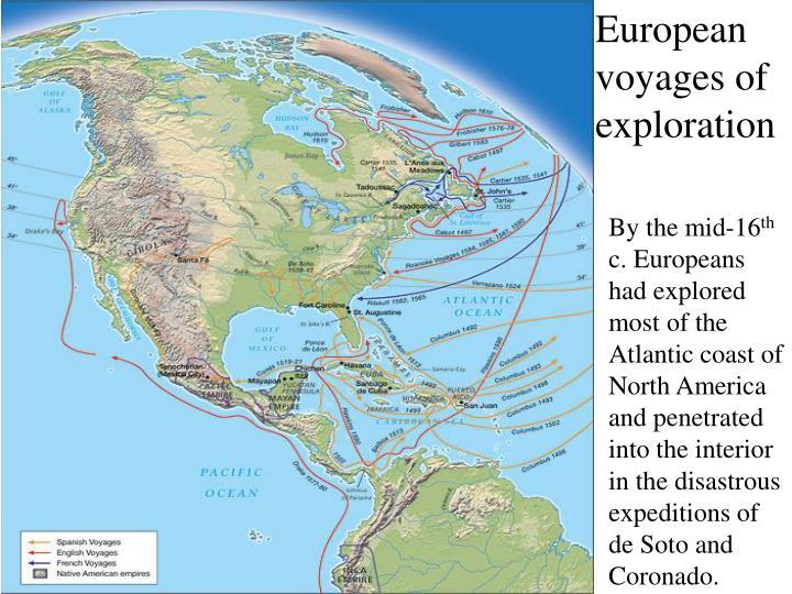 European voyages of exploration