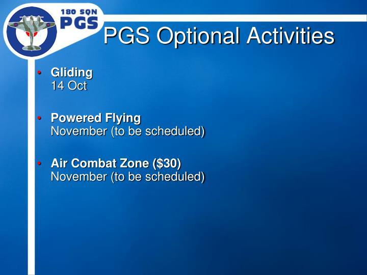 PGS Optional