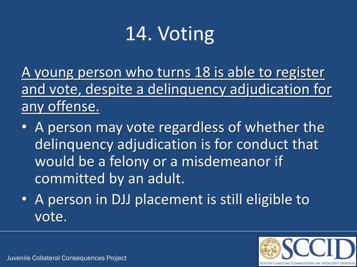 14. Voting