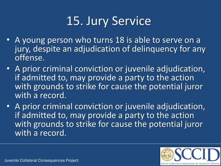 15. Jury Service