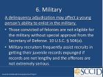 6 military