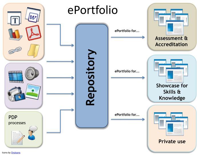 ePortfolio structure