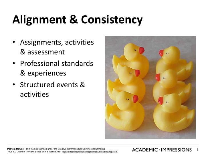 Alignment & Consistency
