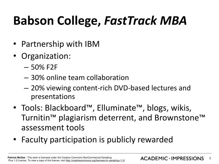 Babson College,