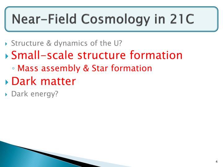 Near-Field Cosmology in 21C