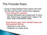 the fireside poets