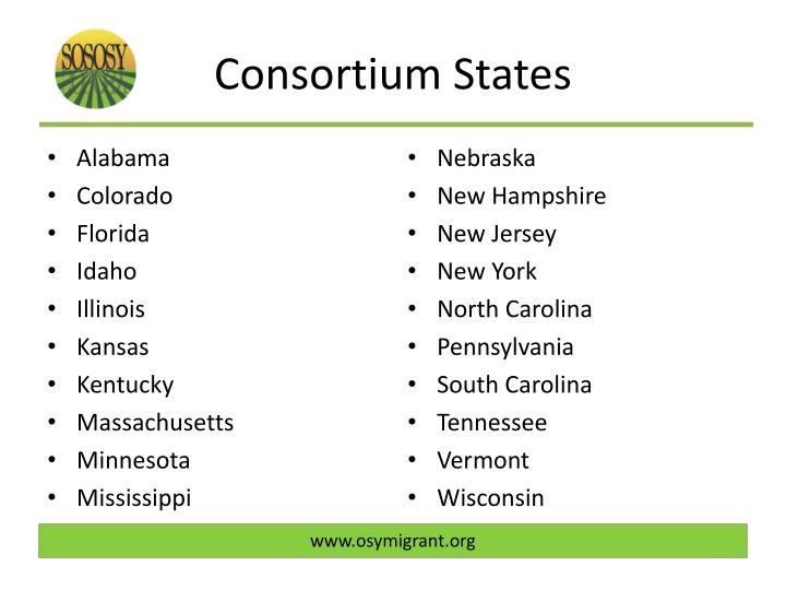 Consortium States