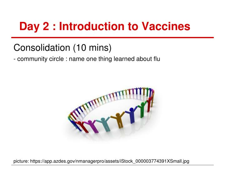 Day 2 : Introduction to Vaccines
