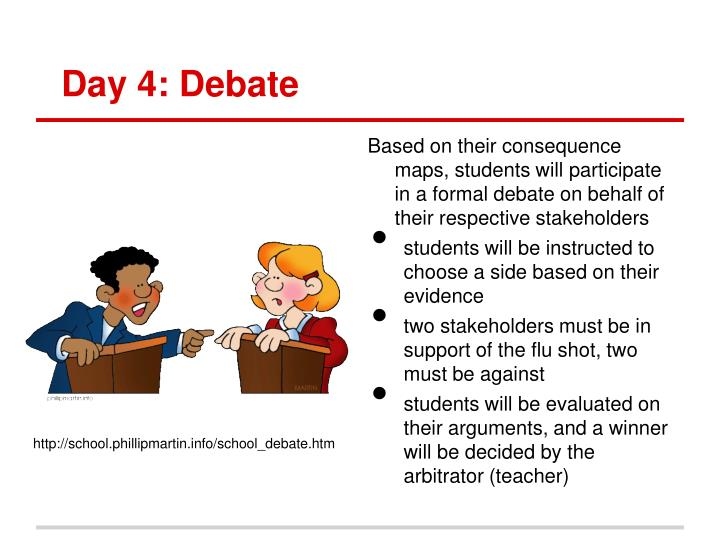 Day 4: Debate