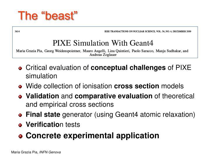 "The ""beast"""