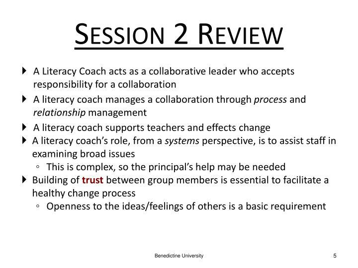 Session 2 Review