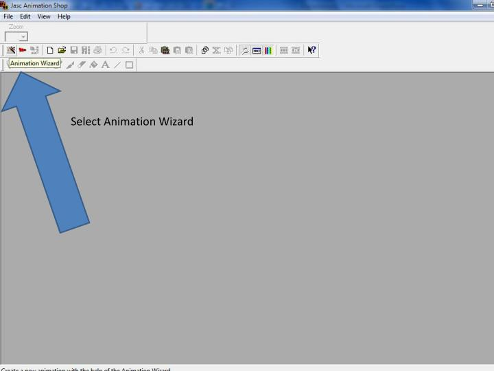 Select Animation Wizard