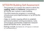 mtss rti building self assessment