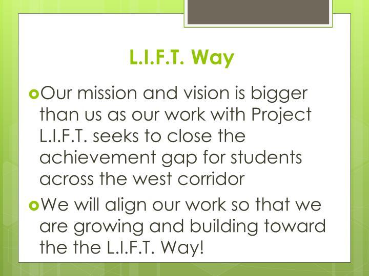 L.I.F.T. Way