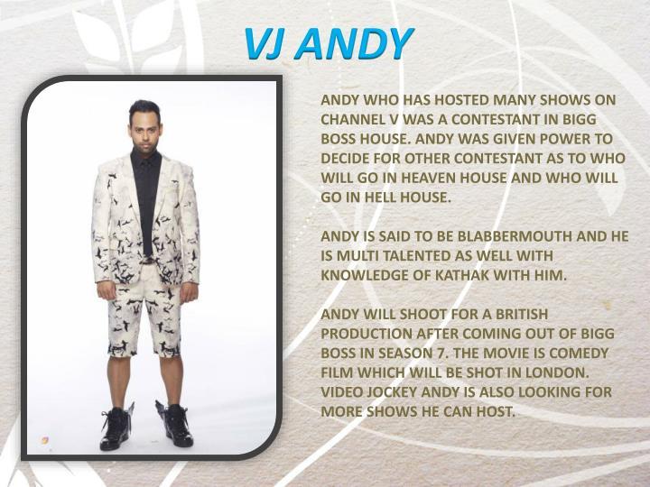 VJ ANDY