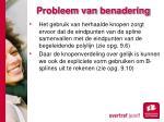 probleem van benadering7