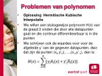 problemen van polynomen1
