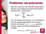 problemen van polynomen3