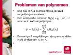 problemen van polynomen6